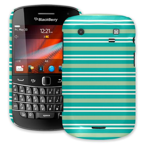 Striped Ocean BlackBerry 9900/9930 Bold ColorStrong Slim-Pro Case